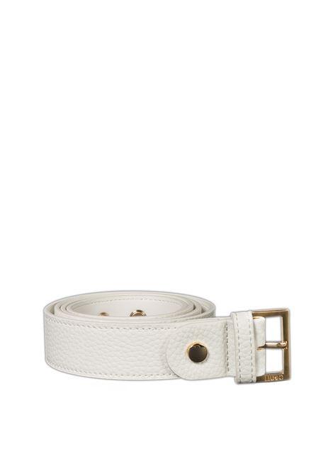 Cintura buckle bianco LIU JO   Cinture   A1255E0027PELLE-01065