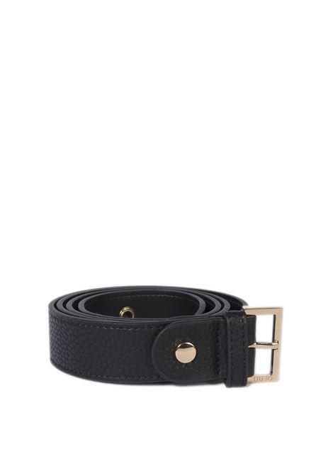 Cintura buckle nero LIU JO   Cinture   A1255E0027PELLE-22222