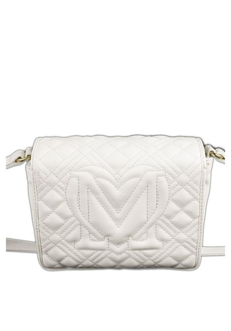 Tracolla mini quilted bianco LOVE MOSCHINO | Borse mini | 4002PELLE-100