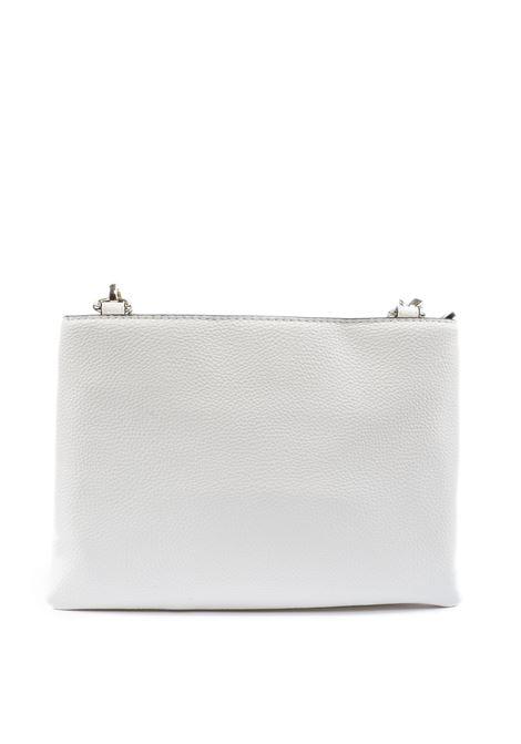 Tracolla mini con doppia tasca bianco LOVE MOSCHINO | Borse mini | 4023PELLE-100