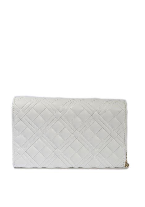 Pochette quilted nero LOVE MOSCHINO | Borse mini | 4079PELLE-100
