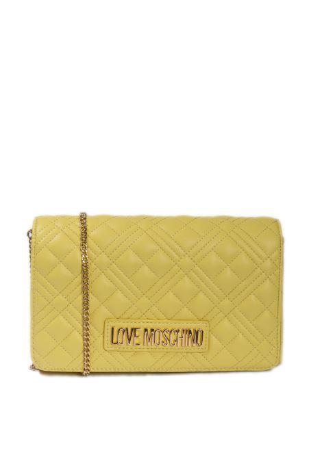 Pochette quilted giallo LOVE MOSCHINO | Borse mini | 4079PELLE-400