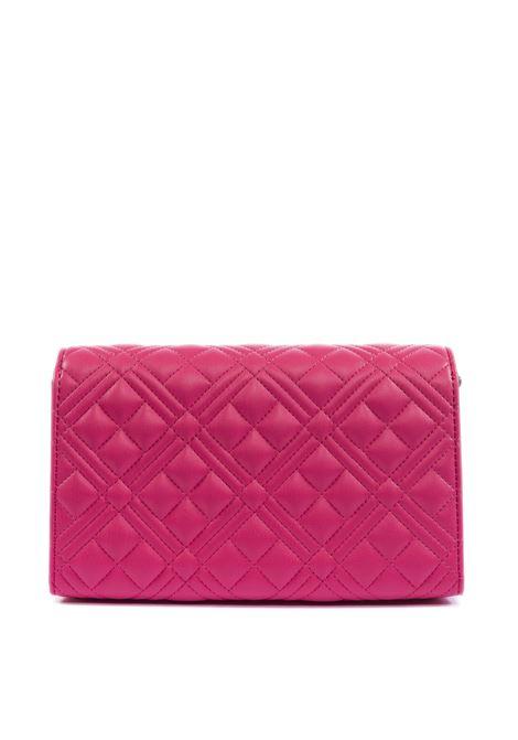 Pochette quilted fuxia LOVE MOSCHINO | Borse mini | 4079PELLE-604