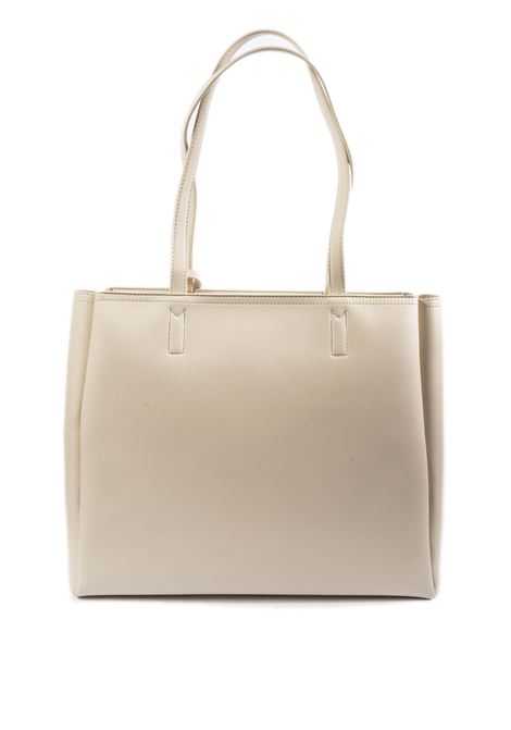 Shopping con charm bianco LOVE MOSCHINO | Borse a spalla | 4100PELLE-10A
