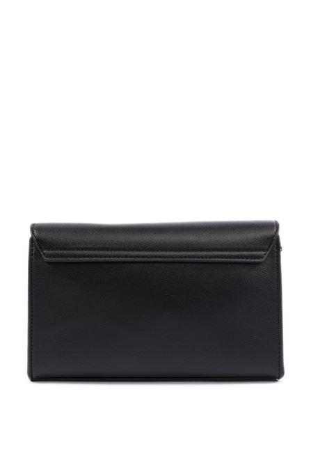 Tracolla zip bonded nero LOVE MOSCHINO | Borse mini | 4127PELLE-000