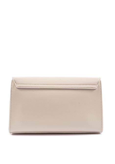 Tracolla zip bonded bianco LOVE MOSCHINO | Borse mini | 4127PELLE-110