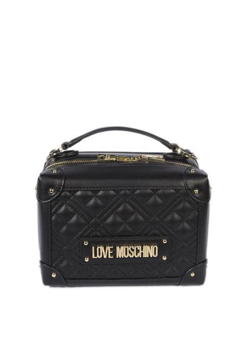 Borsa logo nero LOVE MOSCHINO | Borse mini | 4204PELLE-000