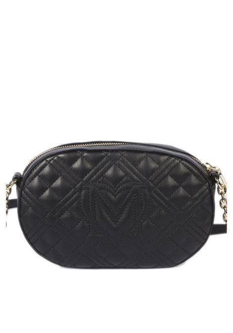 Tracolla s quilted nero LOVE MOSCHINO | Borse mini | 4207PELLE-000