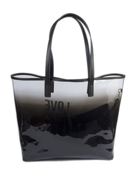 Shopping dégradé nero LOVE MOSCHINO | Borse a spalla | 4255PVC-00A