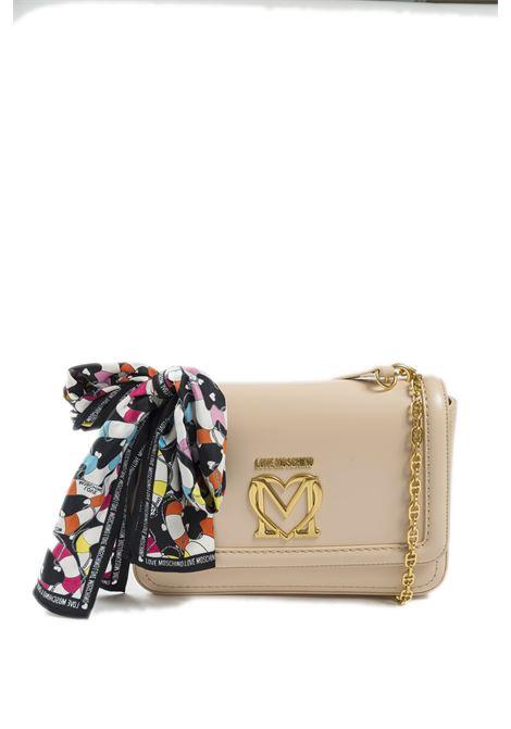 Tracolla m love beige LOVE MOSCHINO | Borse a spalla | 4258PELLE-107