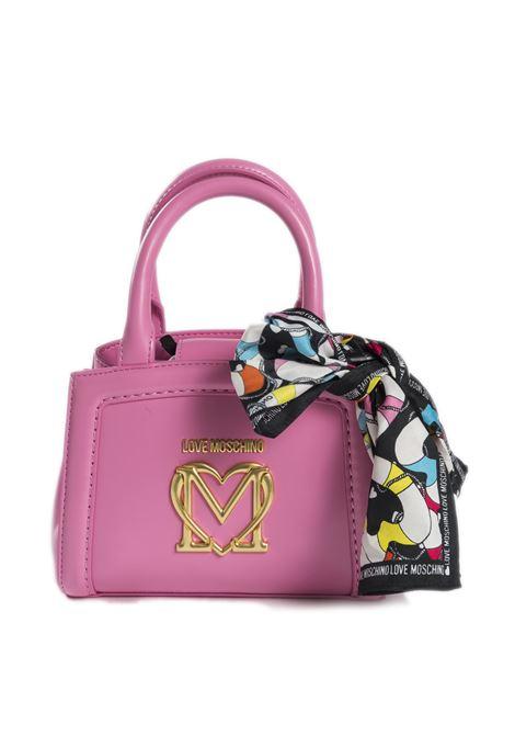 Borsa mini logo cipria LOVE MOSCHINO | Borse mini | 4261PELLE-600