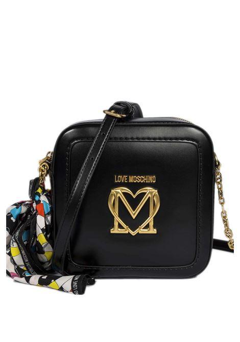 Tracolla square nero LOVE MOSCHINO | Borse mini | 4264PELLE-000
