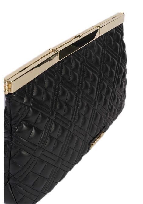 Pochette trapunta nero LOVE MOSCHINO   Borse mini   4278PELLE-000