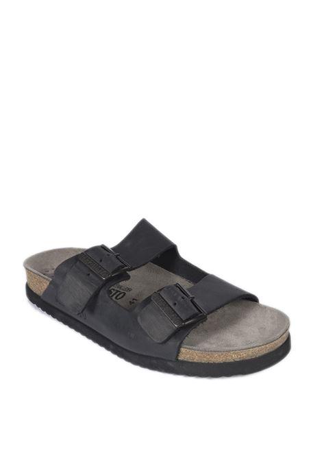 Sandalo nerio nero MEPHISTO | Sandali flats | NERIOSCRATCH-3400