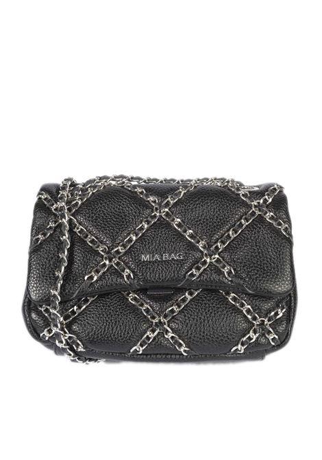 Tracolla m chain nero MIA BAG | Borse mini | 21101CHAIN-001