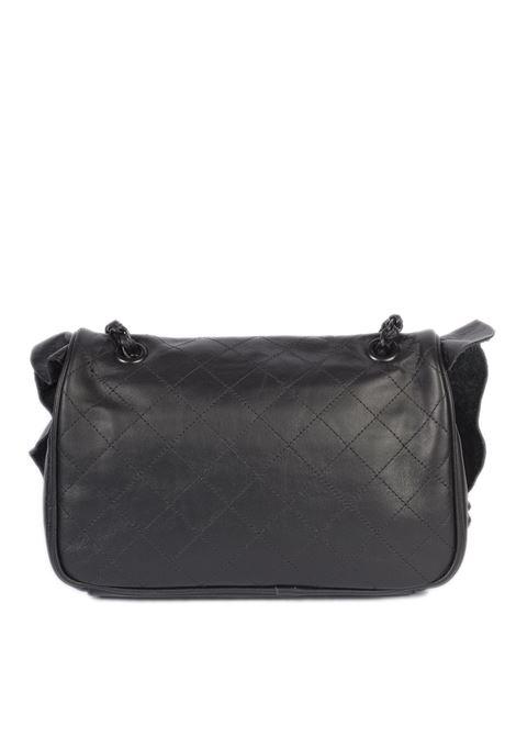 Tracolla m rouches nero MIA BAG | Borse a spalla | 21117ROUCHES-001