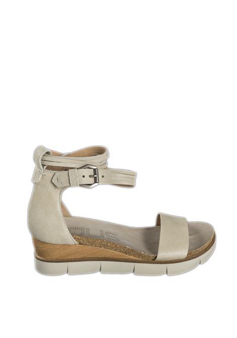 Sandalo fascia panna MJUS | Sandali flats | 866005PELLE-PANNA