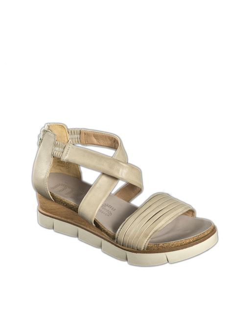 Sandalo incrocio panna MJUS | Sandali flats | 866063PELLE-PANNA