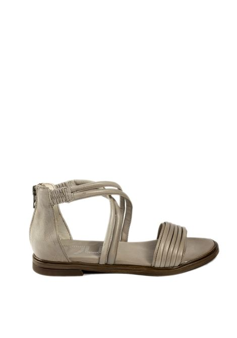 Sandalo flat incrocio bianco MJUS | Sandali flats | M05062PELLE-TOFU