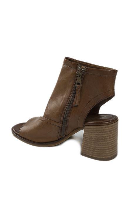 Sandalo mid cuoio MJUS | Sandali | P04001PELLE-MUSTARD