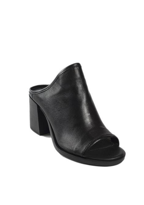Sandalo t6 nero MJUS | Sandali | P04007PELLE-NERO