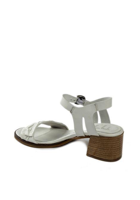 Sandalo rouche panna MJUS | Sandali | P09002PELLE-PANNA