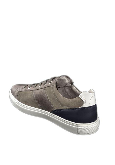 Sneaker zip osaka grigio NERO GIARDINI | Sneakers | 001542OSAKA-105