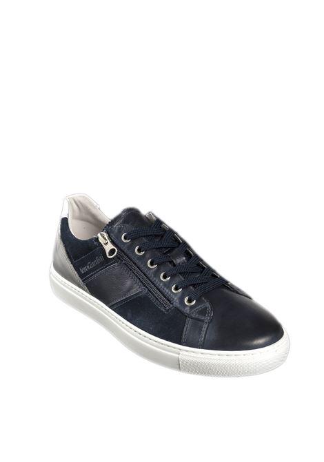 Sneaker zip sauvage blu NERO GIARDINI | Sneakers | 001542SAUVAGE-200
