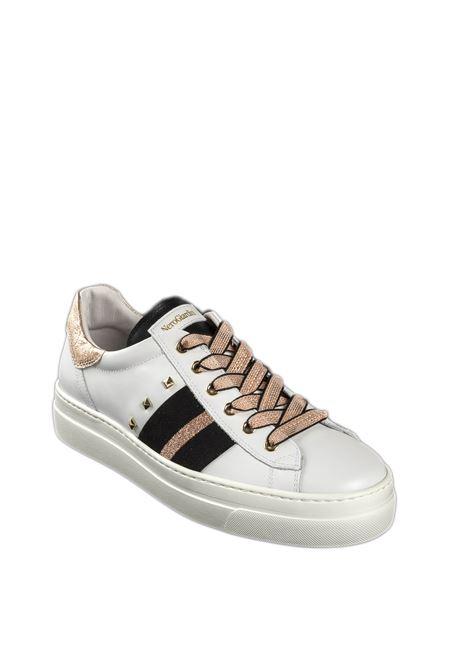Sneaker skipper bianco NERO GIARDINI | Sneakers | 010674SKIPPER-707