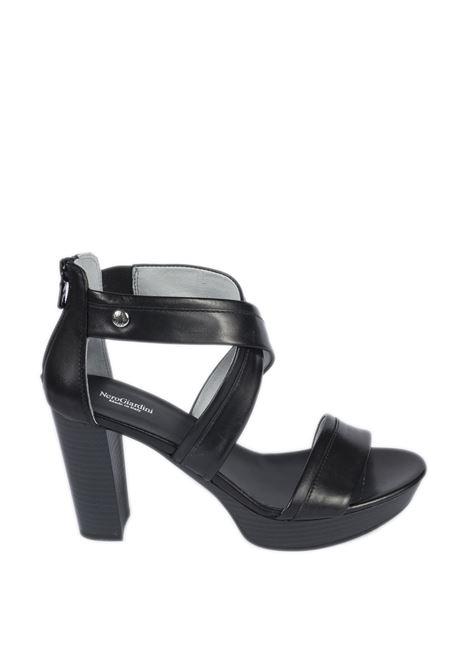 Sandalo tamigi nero NERO GIARDINI | Sandali | 012210TAMIGI-100