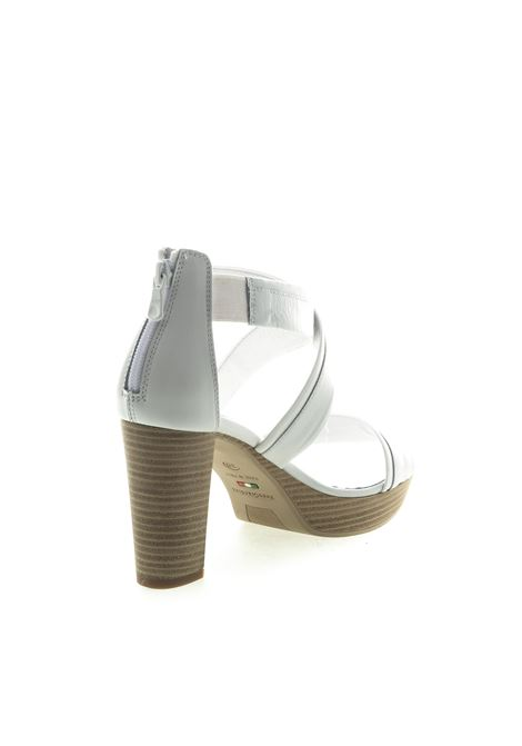 Sandalo oxigen metal argento NERO GIARDINI | Sandali | 012203OXIGEN-700
