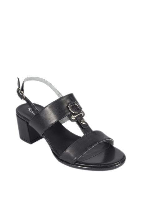 Sandalo leon  nero NERO GIARDINI | Sandali | 012264LEON-100