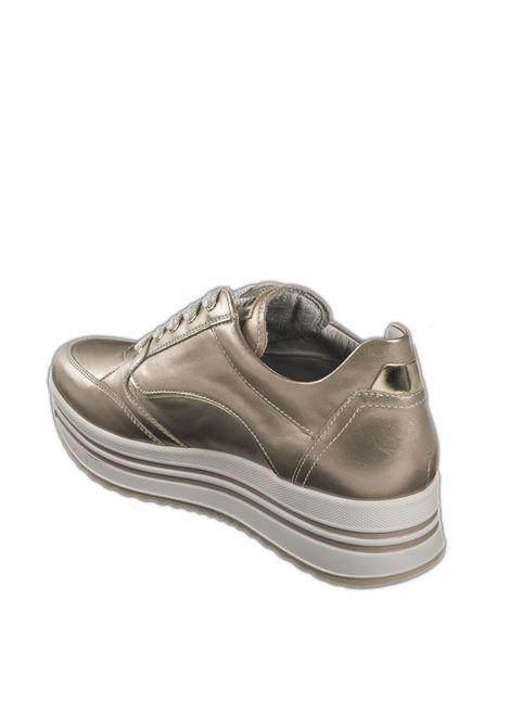 Sneaker platform oxigen oro rosa NERO GIARDINI | Sneakers | 110560OXIGEN-671