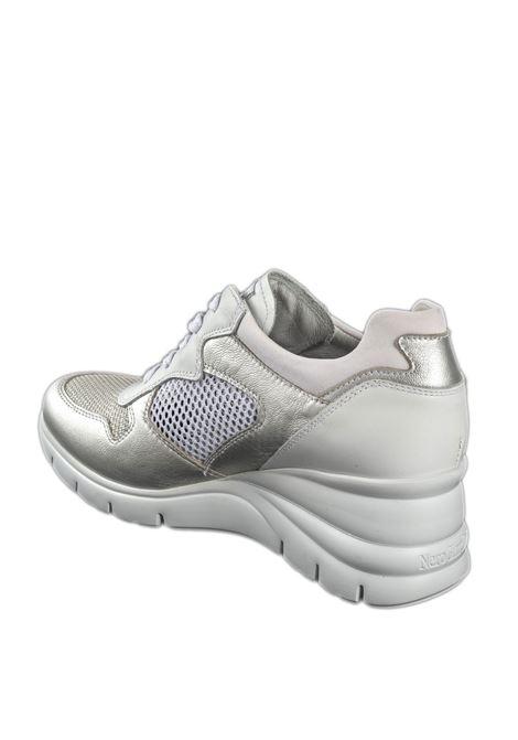 Sneaker etoile argento NERO GIARDINI | Sneakers | 115132ETOILE-700