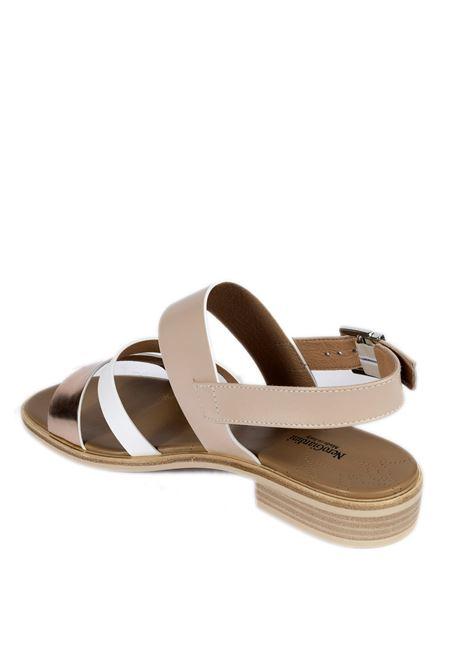 Sandalo specchio oro rosa NERO GIARDINI | Sandali flats | 115503SPECCHIO-660