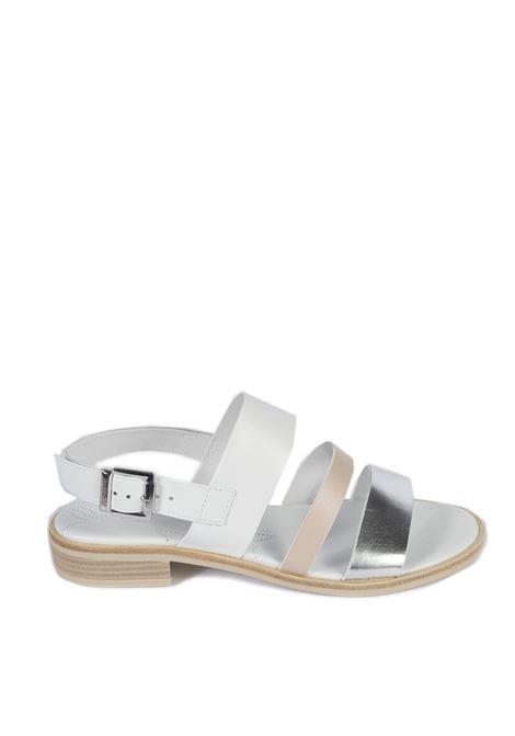 Sandalo specchio argento NERO GIARDINI | Sandali flats | 115503SPECCHIO-700