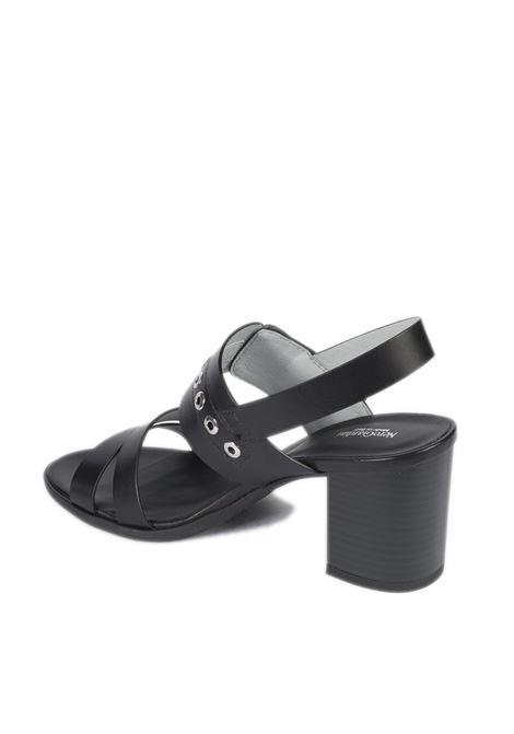 Sandalo tamigi nero NERO GIARDINI   Sandali   115561TAMIGI-100