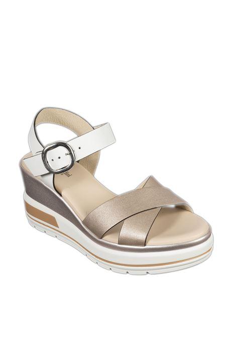 Sandalo etoile platino NERO GIARDINI | Sandali | 115763ETOILE-675