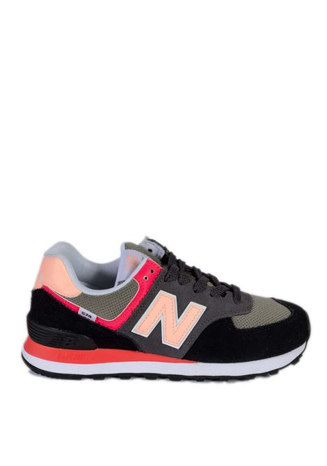 Sneaker 574 nero/rosa NEW BALANCE | Sneakers | 574DST2