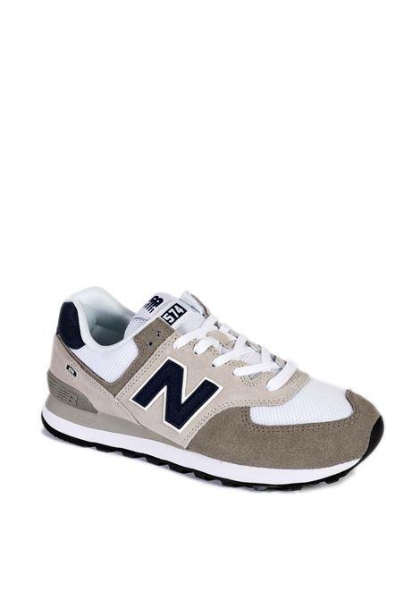 Sneaker 574 grigio/bianco NEW BALANCE | Sneakers | 574UEAG