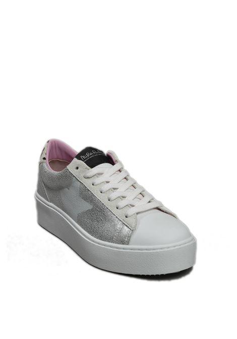 Sneaker cosmopolitan argento/leopard NIRA RUBENS | Sneakers | COSMOPOLITANCOST-158