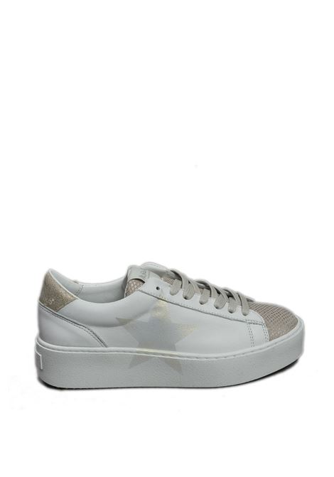 Sneaker cosmopolitan bianco/oro NIRA RUBENS | Sneakers | COSMOPOLITANCOST-162