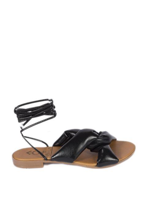 Sandalo celia nero NORMALITY | Sandali flats | CELIANAPPA-NERO