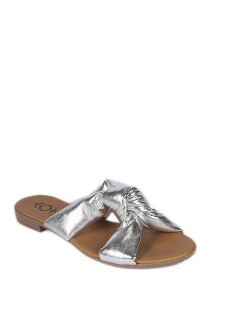 Sandalo estia argento NORMALITY | Sandali flats | ESTIANAPPA-ARGENTO