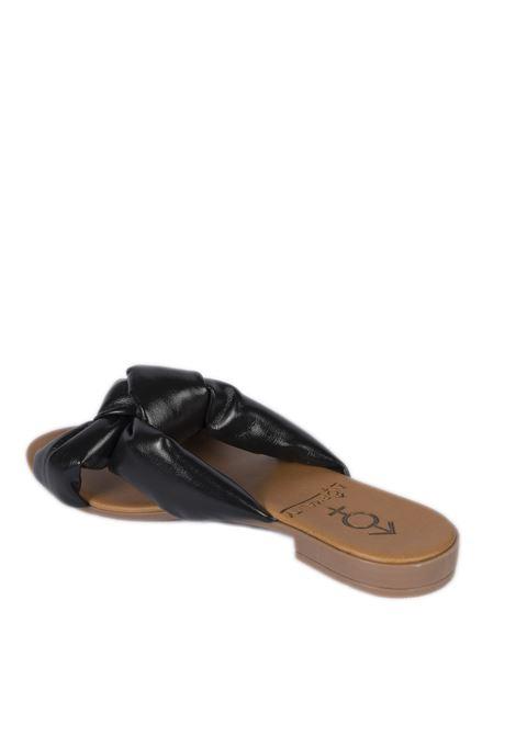 Sandalo estia nero NORMALITY | Sandali flats | ESTIANAPPA-NERO