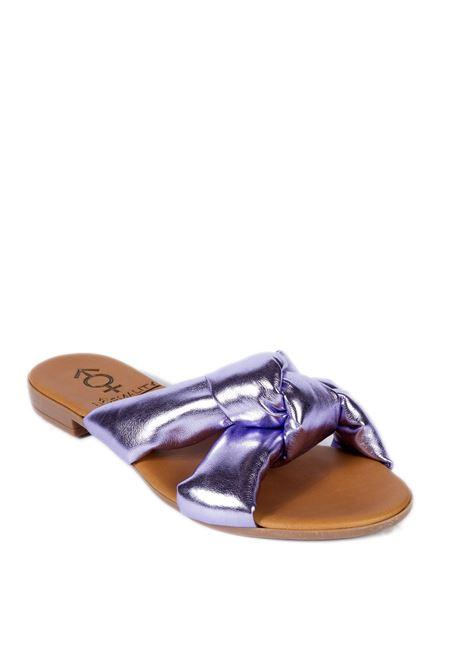 Sandalo estia viola NORMALITY | Sandali flats | ESTIANAPPA-TEA ROSE