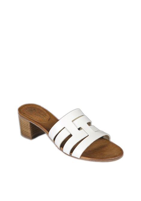 Sandalo fasce bianco NUOVA CUOIERIA | Sandali | 150TUFF-BIANCO