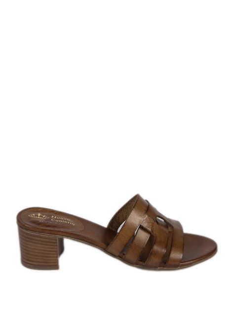 Sandalo fasce cuoio NUOVA CUOIERIA | Sandali | 150TUFF-CUOIO