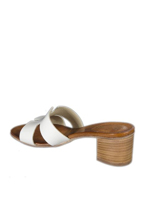 Sandalo t50 bianco NUOVA CUOIERIA | Sandali | E45TUFF-BIANCO