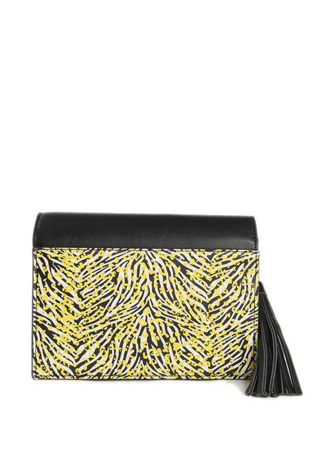 Tracolla ariel nero/giallo PASH BAG   Borse mini   10773ARIEL-NERO/GIALLO